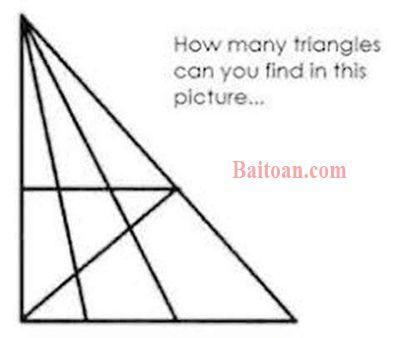 Bài toán đếm số hình tam giác