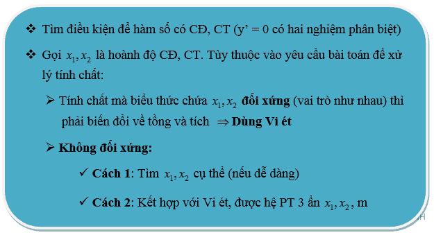 Bài toán tìm cực trị của hàm số-3