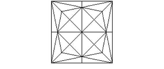 Có bao nhiêu hình tam giác trong hình sau?