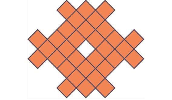 Hãy cắt mảnh giấy thành 4 mảnh nhỏ bằng nhau