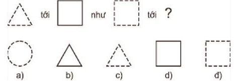 Hình nào hợp lý nhất trong 5 hình