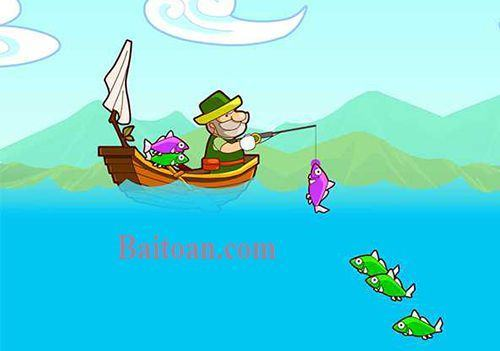 Hỏi ông lão câu được mấy con cá?