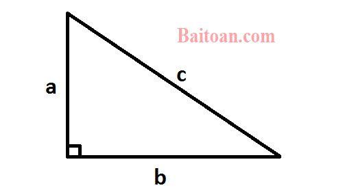 Một bài toán về tam giác vuông khó