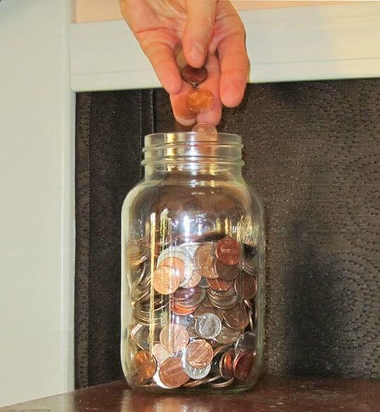 Câu đố tiết kiệm đồng xu để ăn thịt nướng-1