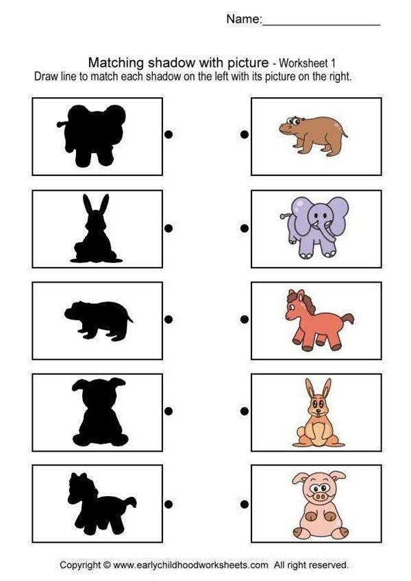 Bài tập nối hình với bóng cho các bé-3