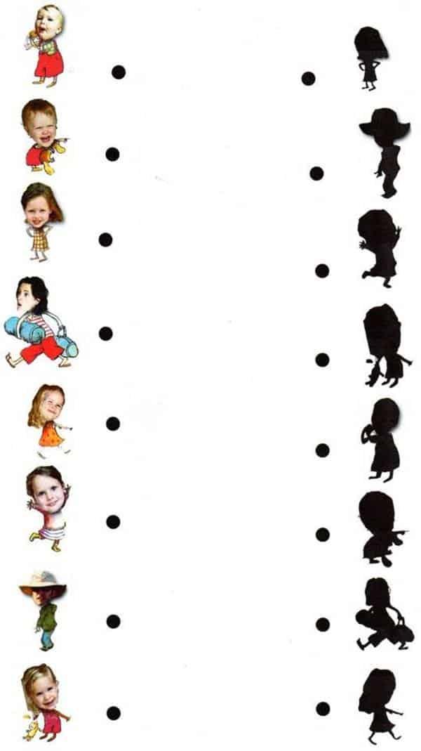 Bài tập nối hình với bóng cho các bé-6