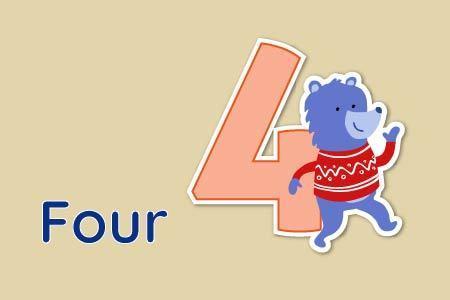 Dạy trẻ đếm số từ 0 tới 5 bằng tiếng Anh-4