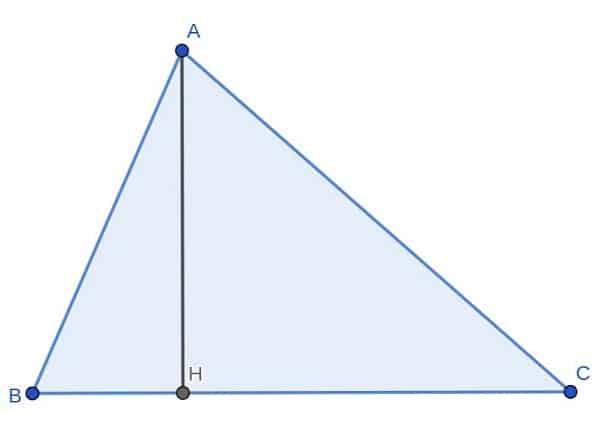 Bài toán tìm góc của tam giác biết tổng bình phương chu vi