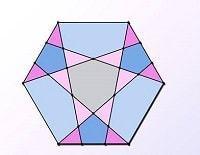 Bài toán vui về diện tích hình lục giác