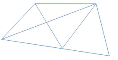 10 Bài tập Toán lớp 1: Nhận biết điểm, đoạn thẳng