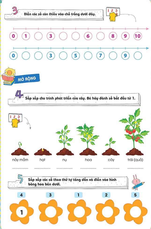 Một số bài tập phát triển tư duy cho trẻ 4-6 tuổi-1