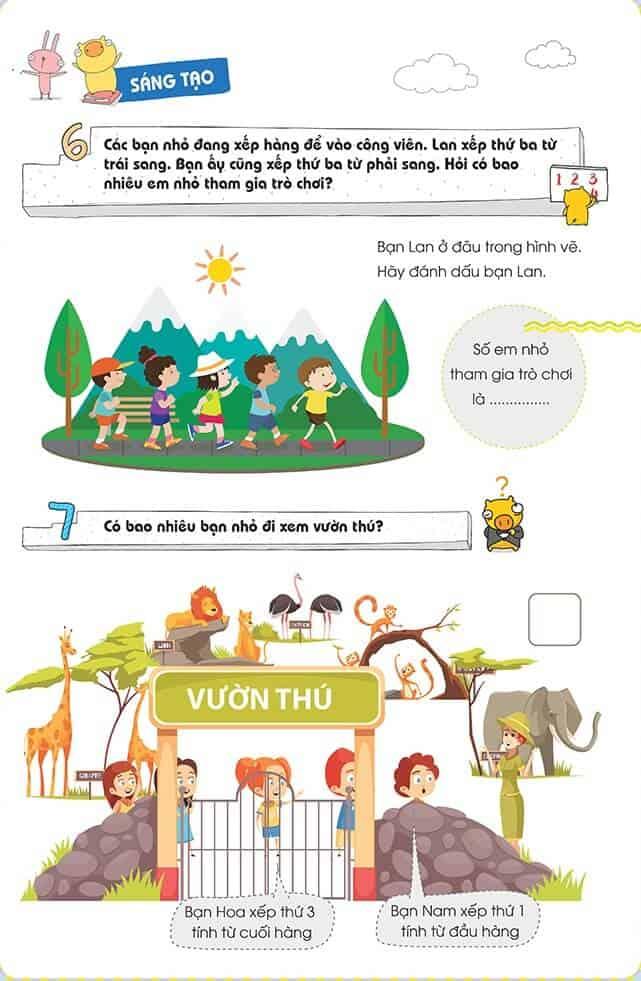 Một số bài tập phát triển tư duy cho trẻ 4-6 tuổi-2