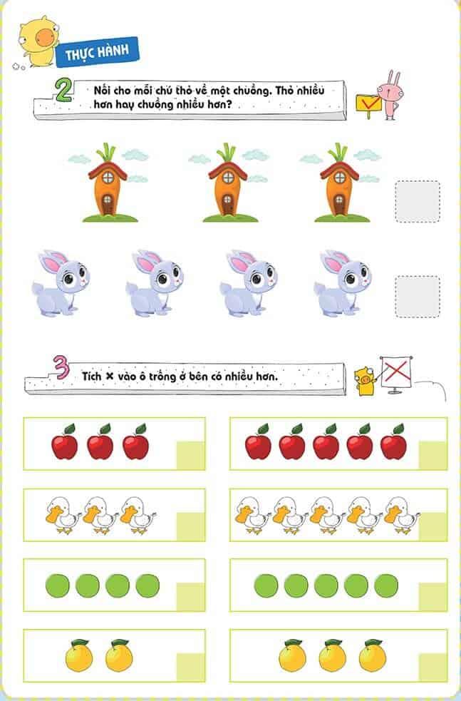 Một số bài tập phát triển tư duy cho trẻ 4-6 tuổi-4