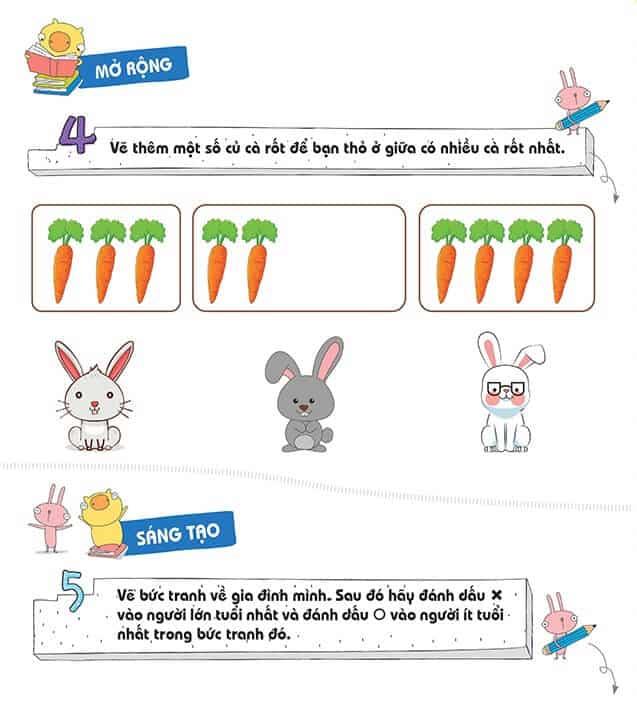 Một số bài tập phát triển tư duy cho trẻ 4-6 tuổi-5