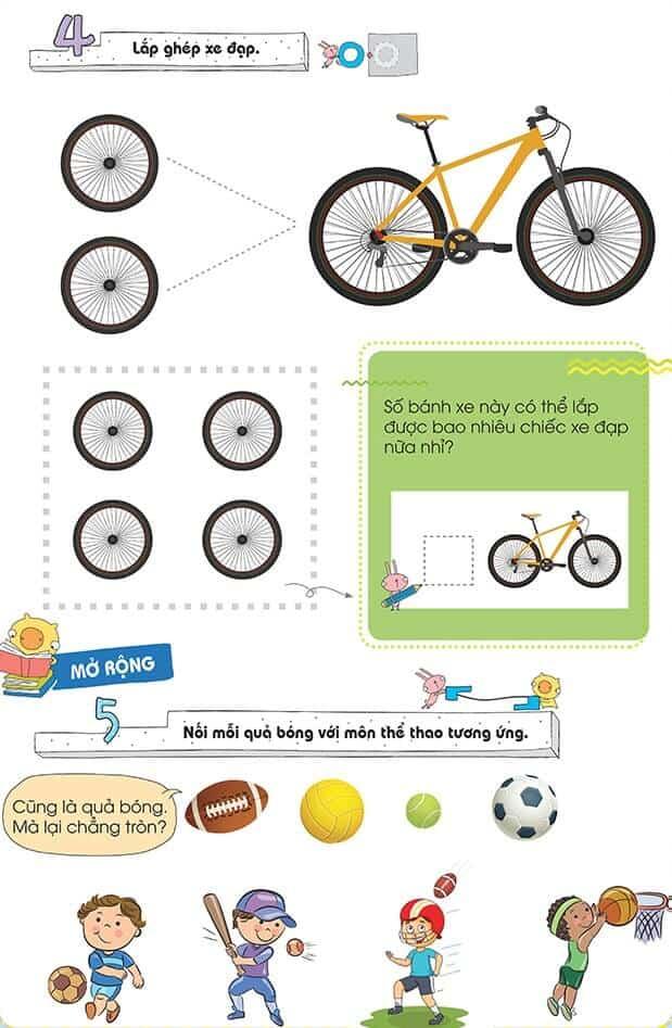 Một số bài tập phát triển tư duy cho trẻ 4-6 tuổi-6