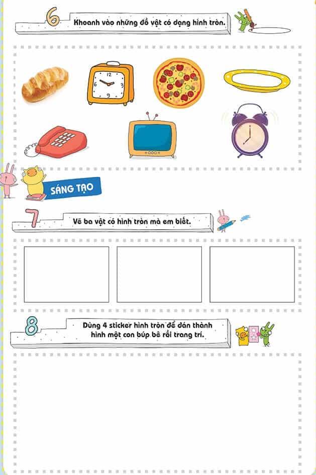 Một số bài tập phát triển tư duy cho trẻ 4-6 tuổi-7