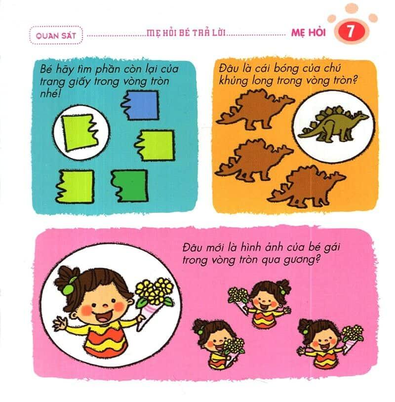 Một số câu mẹ hỏi trẻ 4-5 tuổi trả lời-6