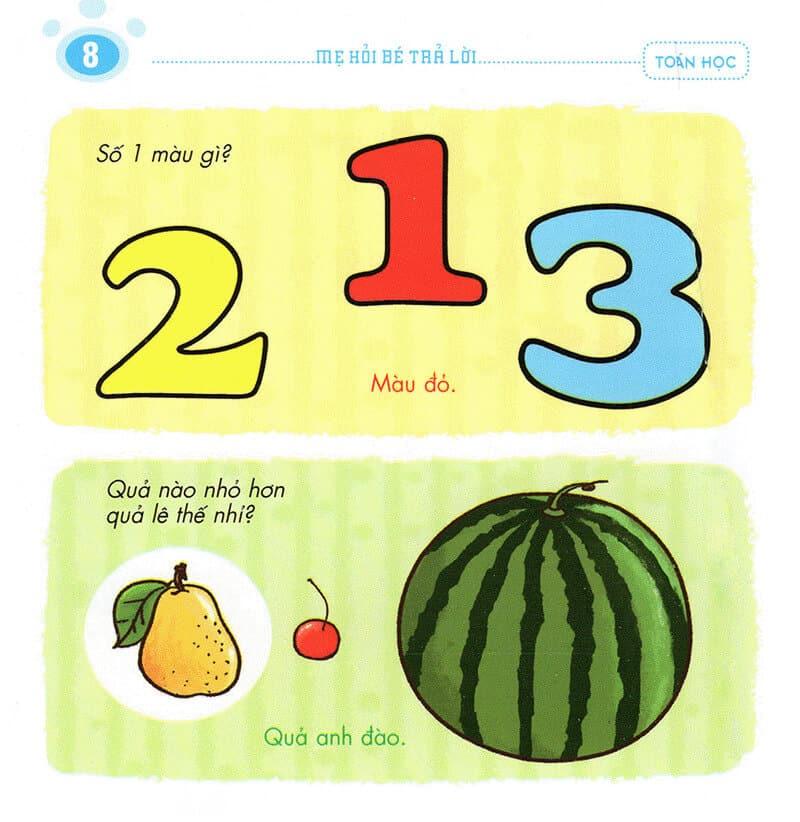 Một vài câu mẹ hỏi trẻ 2 tuổi trả lời-7