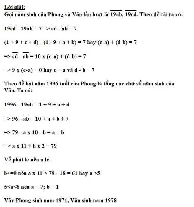 Bài toán cấu tạo số nâng cao hay dành cho học sinh lớp 5