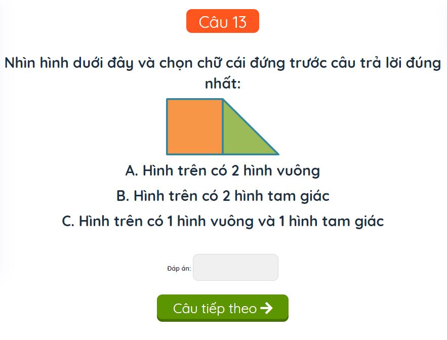 15 bài toán cơ bản cho học sinh lớp 1-12