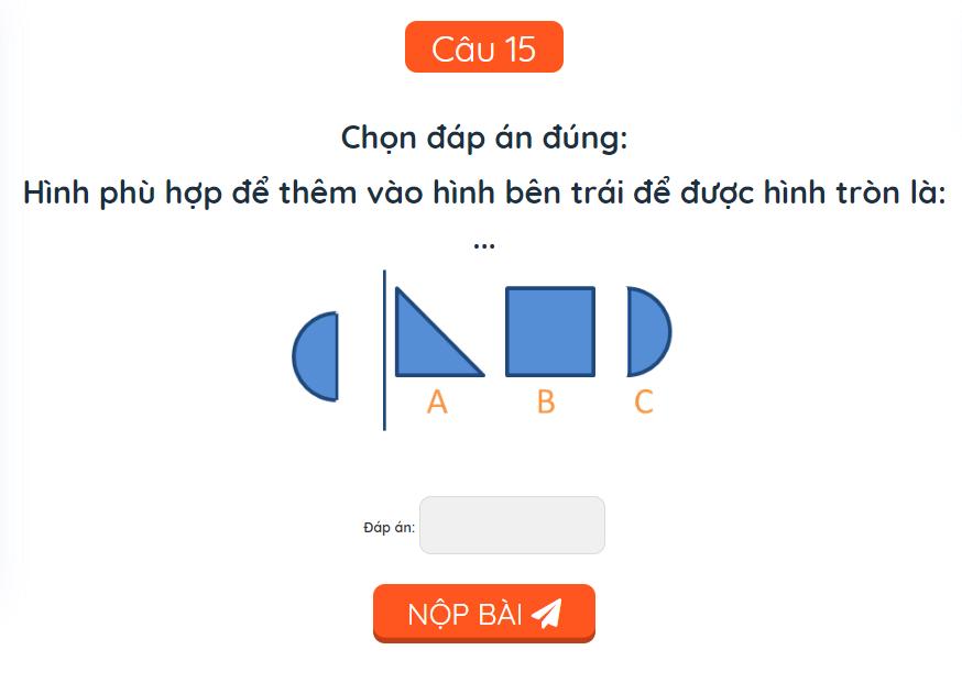 15 bài toán nâng cao cho học sinh lớp 1-14