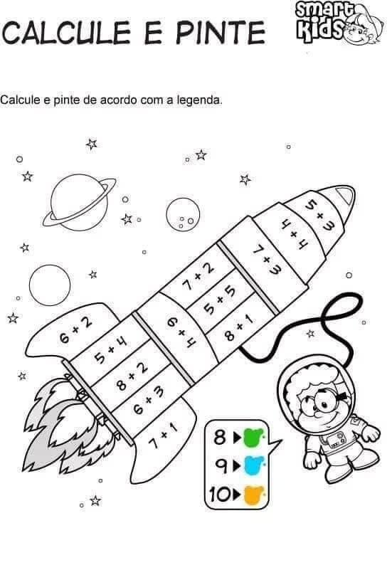 Tranh tô màu toán tư duy cho trẻ 5 tuổi-5