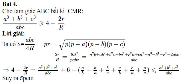 Một số bài toán chứng minh BĐT lượng giác có lời giải-3
