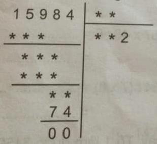 Giải bài toán điền vào dấu * trong phép chia