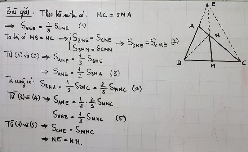 Giải bài toán hình học nâng cao lớp 5-1