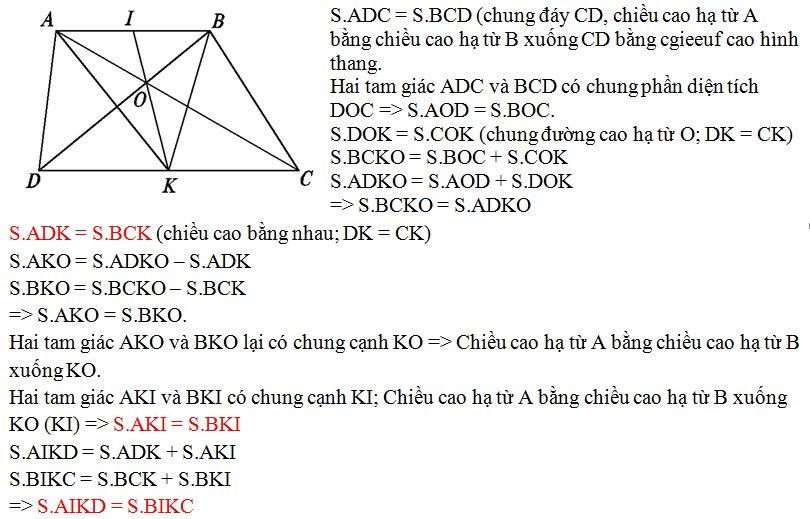 Bài toán tính diện tích nâng cao lớp 5