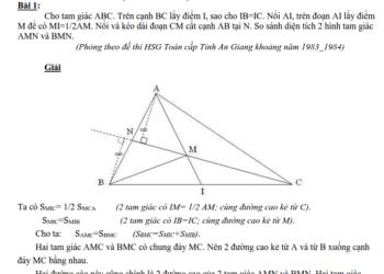 Hướng dẫn giải các bài toán hình học nâng cao lớp 5